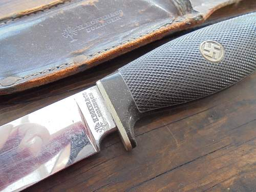 Nazi Party sheath knife by boker