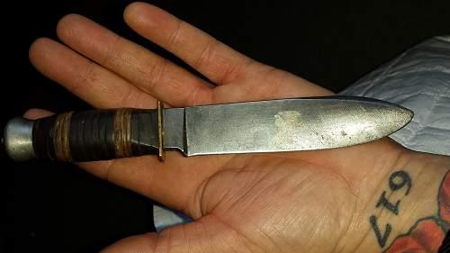 german boot knife??
