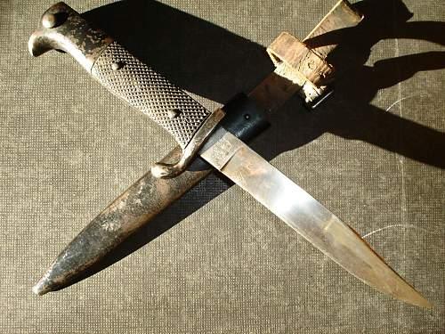 KS98 Style Trench Knife