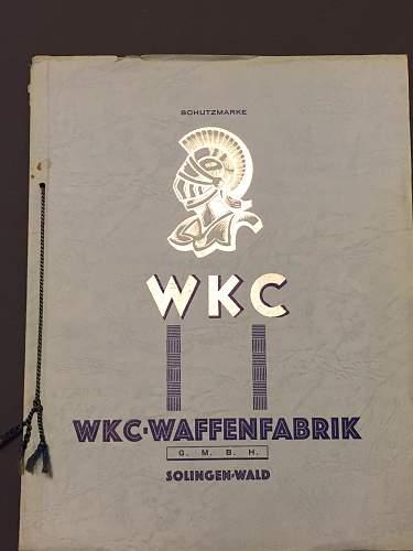 Original and complete WKC catalog