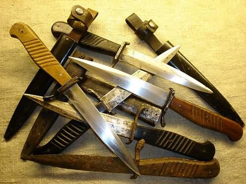 Close Combat Knives