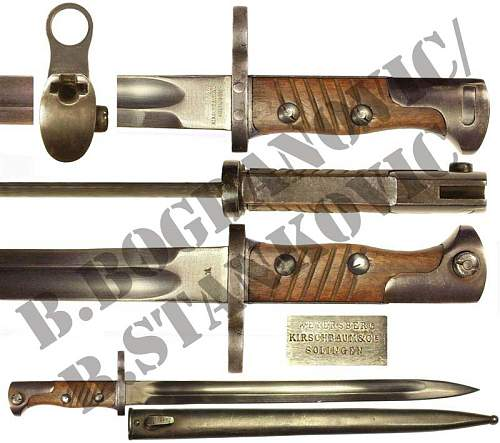 Imperial or Possibly Later Trench Knife