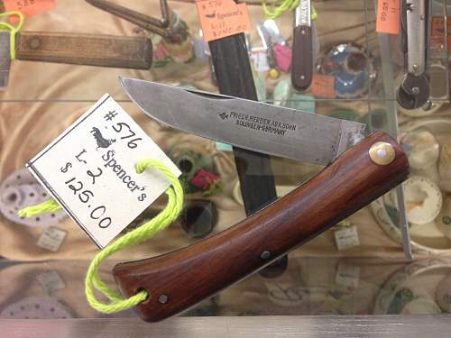 Interesting folding knife, is it from the TR time period?