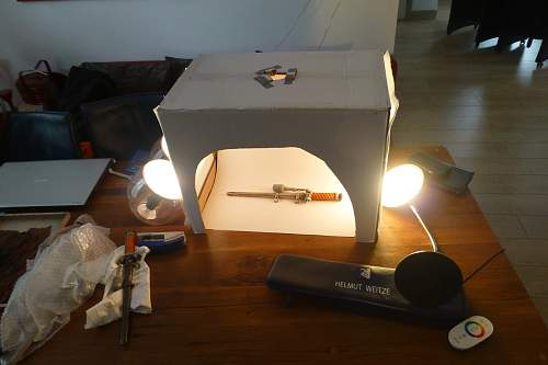 Lightbox a great help, making one for less then $ 10-- yourself