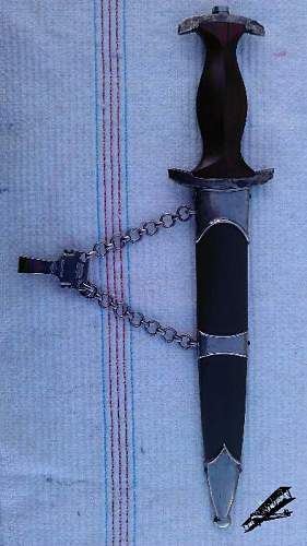 NPEA chained dagger with dedication - Need Opinions