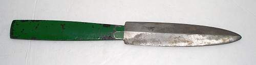 Ok, going out on a limb here... but is this any kind of a significant TR period knife?
