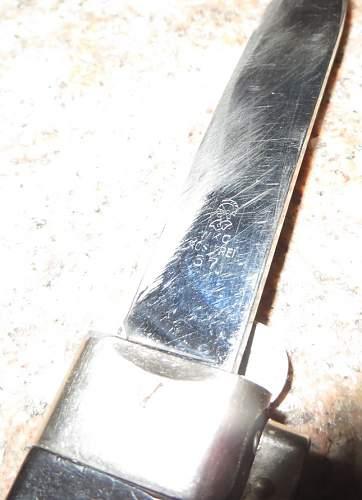 WKC gravity knife!!