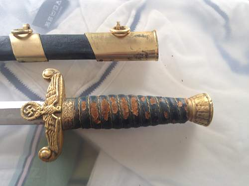 Water Customs Dagger