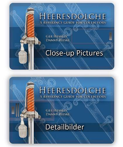 """""""Heeresdolche"""" a Reference Army Daggers Book  Secret Weapon revealed!!"""