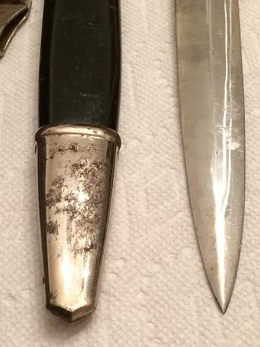 Help with unknown Nazi Dagger