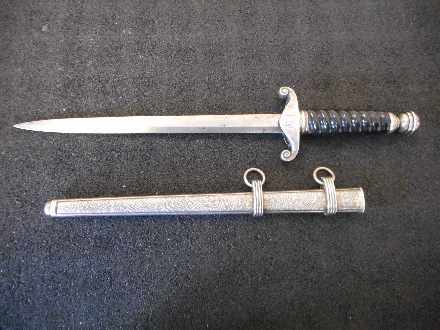 railway  u0026water protection dagger  letter opener