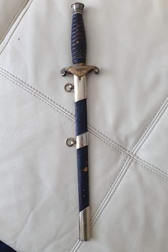 Land custom dagger