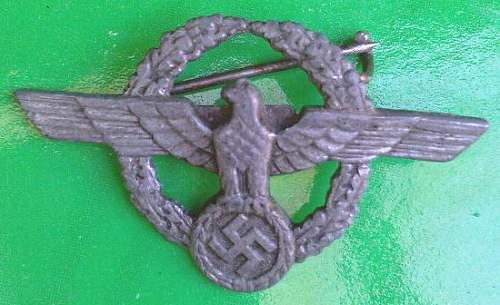 Police Lapel Badge