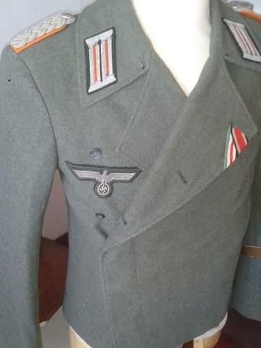 Police Officer's Grade Sleeve Eagles