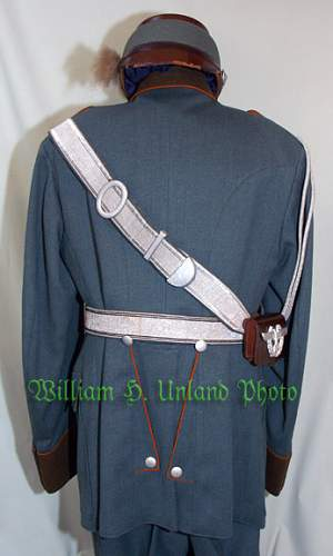 Gendarmerie Parade Dress