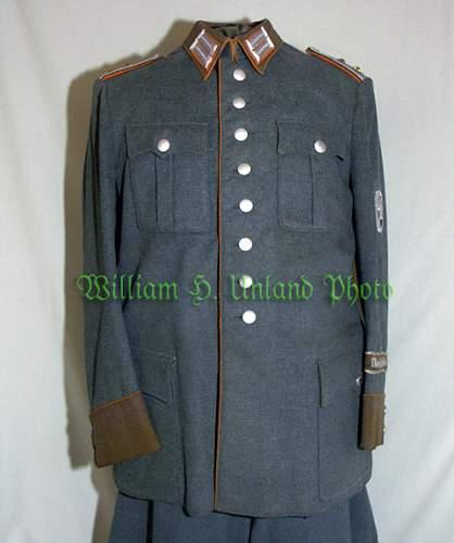 Mot. Gendarmerie Tunic