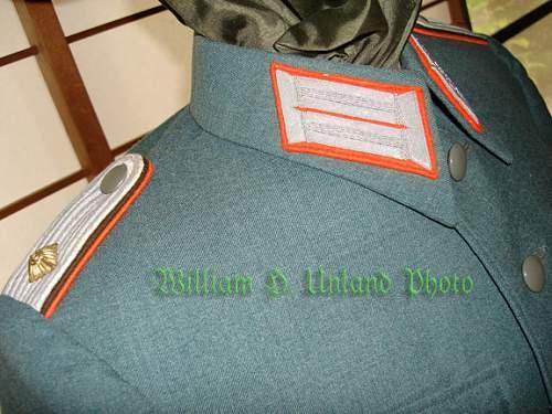"""Gendarmerie """"Combat"""" Uniform"""