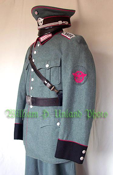 Feuerschutzpolizei Uniform
