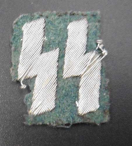 SS Membership Runes Breast Insignia.