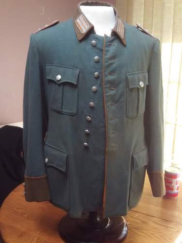 Gendarmerie Waffenrock for opinions/advice