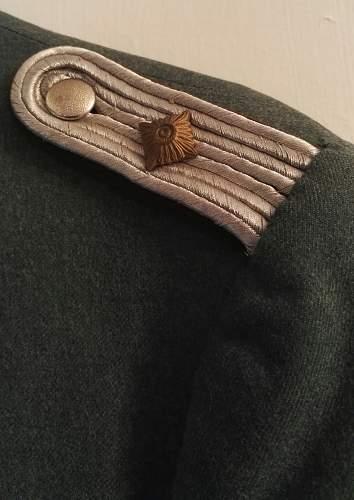 Schutspolizei tunic