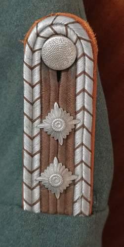 Polizei insignia - Shoulderboards