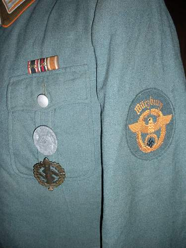 A new and welcomed addition to the Collection. Gendarmerie Meister Tunic Wurzburg