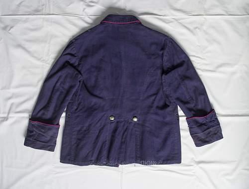 Tunic and pants feuerschutzpolizei