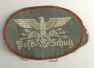 Postschutz sleeve eagle question. Can you give me a hand?