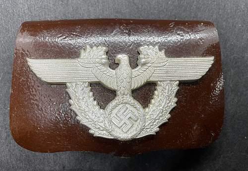 Gendarmerie NCO Cartouche pouch