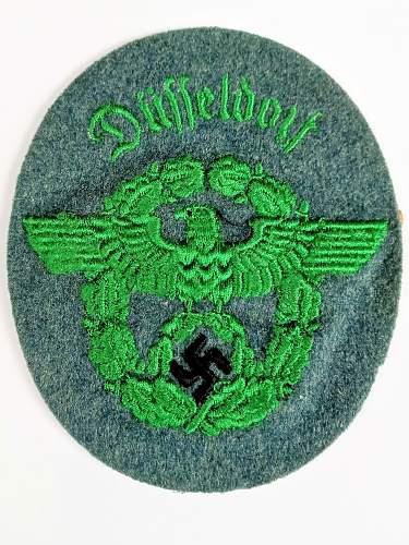 Help on Schutzpolizei des Reichs Patch