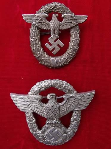 1st pattern Police Cap badge