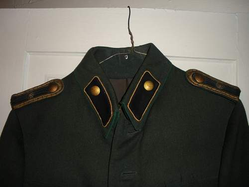 German Police, Judicial Branch, Prison Guard Tunic from Hannover