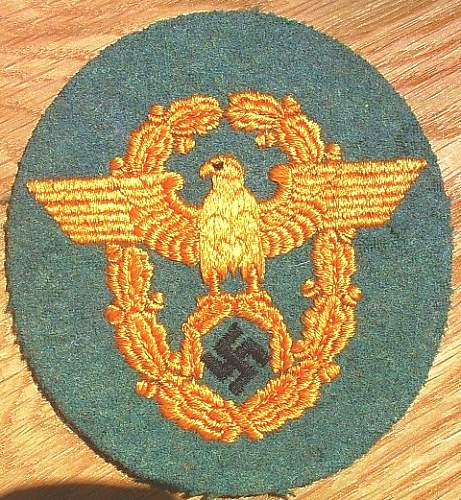 Police Eagles - Opinions please.