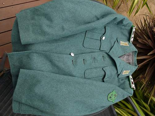 German Police tunic....opinions?