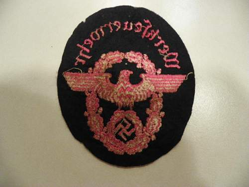 My new patch what is it