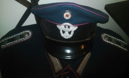 WWII German Fire Police Tunic and Cap - REAL or NOT SO REAL???