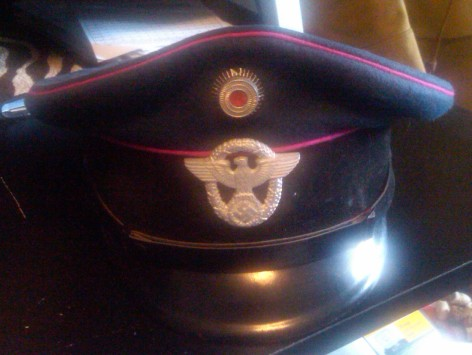 Wwii German Fire Police Tunic And Cap Real Or Not So Real