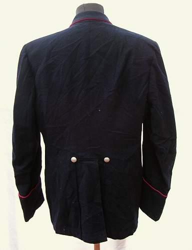 Feuerwehr fire brigade dress jacket