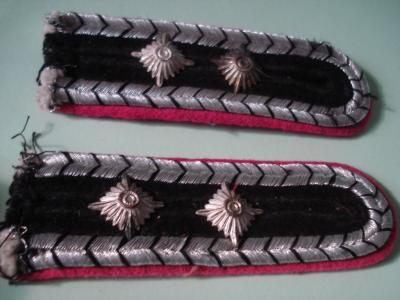Fire Police shoulder boards