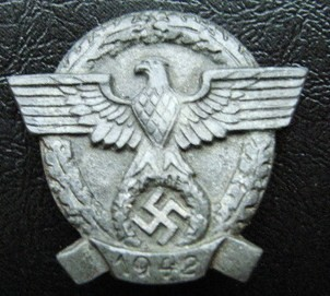 german police badge