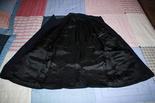 Fire Police tunic: Its old and it smells bad. Is it real?