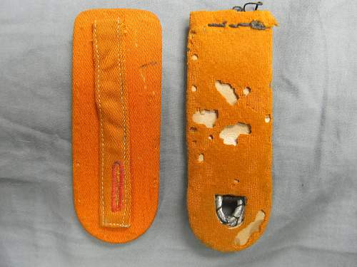 Polizei shoulderboards