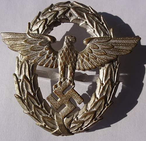 Police Eagle early style?