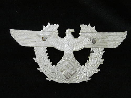 Metal Police Eagle