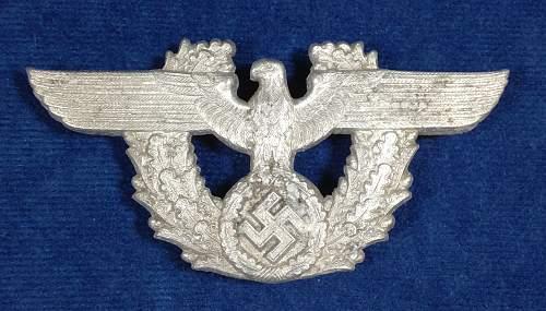 Polizei Cartouche Adler - KuQ 37 for review