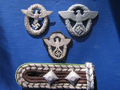 Polizei Items