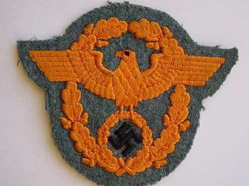 Click image for larger version.  Name:Feldgendarmerie sleeve eagle 001.jpg Views:144 Size:152.9 KB ID:4604