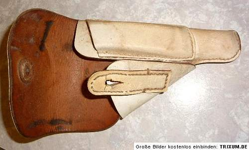 Parade Police gun holster  from the WK2 genuine?