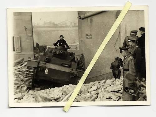 Panzer marking